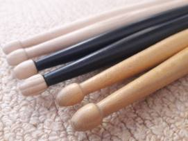 three pairs of sticks